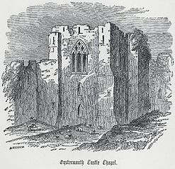 Oystermouth castle chapel