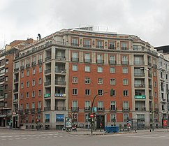 Viviendas en Pº Castellana 53, Madrid (1945)