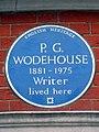 P. G. WODEHOUSE 1881-1975 Writer lived here.jpg