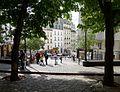 P1040849 Paris XVIII place Emile Goudeau rue Ravignan rwk.JPG