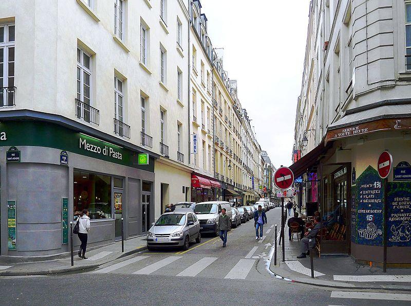 Paris - rue du Roule