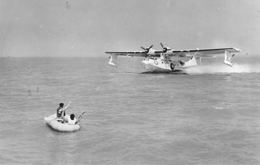 PBY OA-10A off Keesler Field 1944