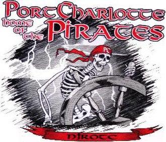 Port Charlotte High School - PCHS NJROTC's official logo