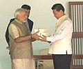PM and Chinese President visit Sabarmati Ashram (15089340350).jpg