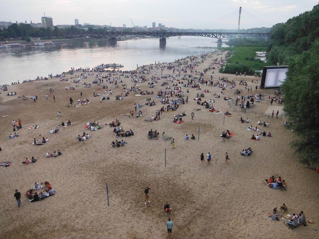 Spiaggia di Varsavia - Foto di Tadeusz Rudzki