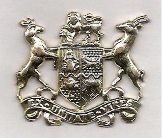 Sergeant major - Warrant officer class 1 rank badge 1921–1957
