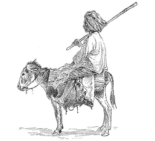 PSM V40 D618 The potter and his donkey.jpg