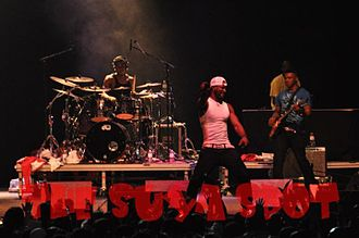 P-Square - (P Square) on stage performing in Canada 2010