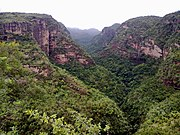 Pachmarhi valley Madhya Pradesh INDIA
