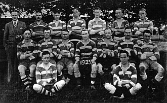Club Atlético Ferrocarril General San Martín - The rugby union team in 1925.