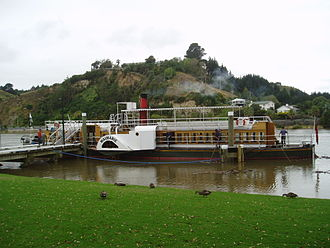 PS Waimarie - PS Waimarie on the Whanganui River