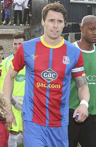 Paddy McCarthy - McCarthy with Crystal Palace in 2012