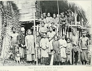 Orang Asli - The Orang Asli of Hulu Langat in 1906.