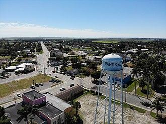 Pahokee, Florida - Pahokee Water Tower