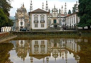 Vila Real - Image: Palau de Mateus