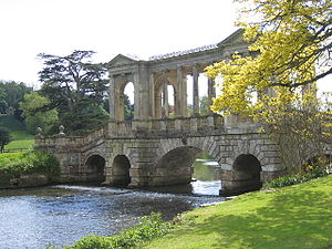 River Nadder - Image: Palladian bridge Wilton House