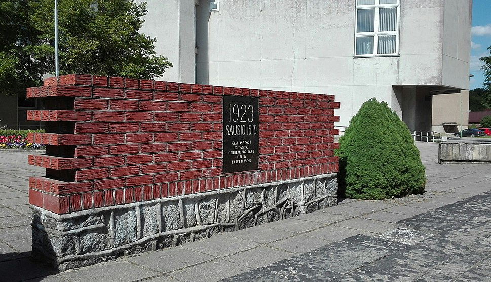 Paminklas Klaipėdos krašto prijungimui prie Lietuvos - Šilutėje