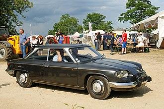 Panhard 24 - Image: Panhard 24 Flickr besopha