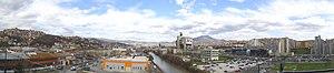 Novi Grad, Sarajevo - Panoramic view of Novi Grad; Alipašino polje-A Faza; from Hotel Sarajevo, spring 2013.