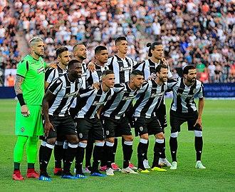 2018–19 PAOK FC season - Image: Paok spartak (16)
