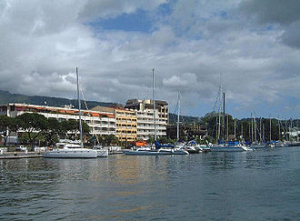Papeete - Papeete waterfront