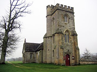 Parham, West Sussex - Image: Parham St Peter