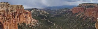 Geology of the Bryce Canyon area - Image: Paria View at Bryce Canyon NP
