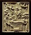 Paris -Musée national du Moyen-âge - Plaque de reliure - Dormition de la Vierge - 001.jpg