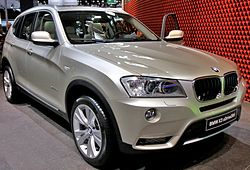 Paris - Mondial de l'automobile 2010 - BMW X3 - 001.JPG
