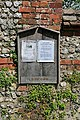 Parish notice board, Chilcomb - geograph.org.uk - 436373.jpg