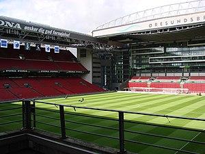 Parken Stadium - Telia Parken field