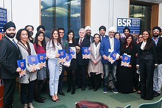 John McDonnell - McDonnell with members of the British Sikh community in April 2018