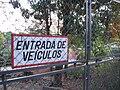 Parque Ecológico de Paulínia, São Paulo, Brasil vehicle entrance.jpg