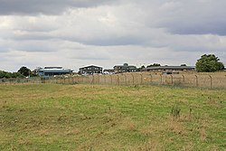 Part of Blandford military Camp seen from nearby tumulus - geograph.org.uk - 229209.jpg