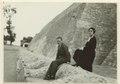 Parti av tempelpyramiden vid Tenayuca. Ant., Mr and Mrs. Frans Blom, New Orleans - SMVK - 0307.b.0052.tif