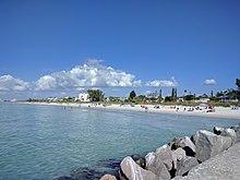 P A Grille Beach From Pier Gk Jpg