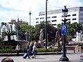 Pastor del flabiol (Gargallo - plaça Catalunya) P1450590.jpg