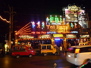 The Amazing Race 26 - This leg focuses around the famous nightlife in Phuket's Patong Beach.