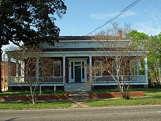 National Register of Historic Places listings in Montgomery County, Alabama - Image: Patrick Henry Brittan House 01