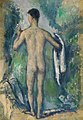 Paul Cézanne - Standing Bather, Seen from the Back - 2007.289 - Art Institute of Chicago.jpg