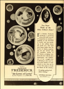 Pauline Frederick The Loves of Letty Film Daily 1919.png