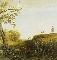 A Wild Boar in a Landscape