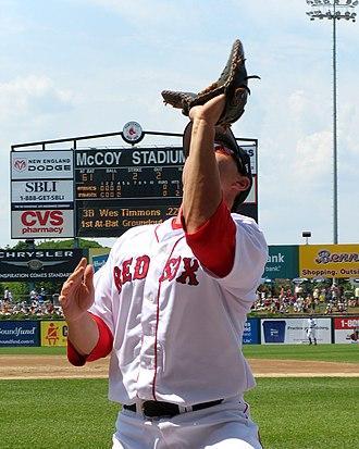 Jeff Bailey - Image: Paw Sox Jeff Bailey