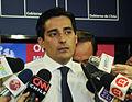Peñailillo en conferencia de prensa tras declaración de zona de catástrofe en Valparaíso.jpg