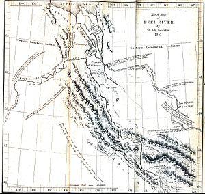 Peel River (Canada) - Peel River, 1845