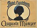 Pelzhut-Ausstellung Auguste Münzer c1910.jpg