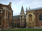 Pembroke College was the third college to be founded in the University of Cambridge
