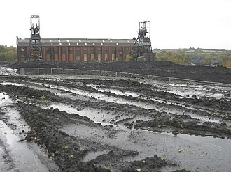 Penallta Colliery - Image: Penallta Colliery Building, Nr Ystrad Mynach geograph.org.uk 364024