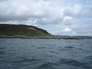 Penlee Point, Rame - Penlee Point from the sea