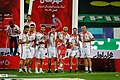 Persepolis F.C. celebrating after 2019–20 Persian Gulf Pro League trophy (12).jpg